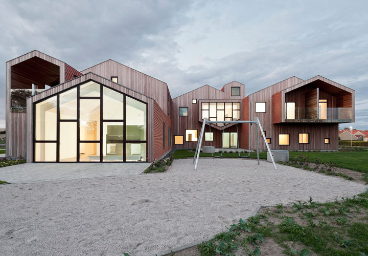 "A place like home, ""our house"" - Children's Home of the Future building by CEBRA Architecture."