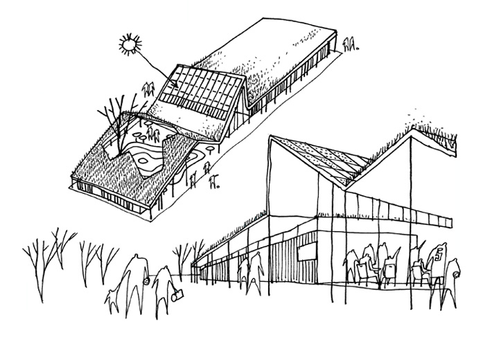 Sustainable club house