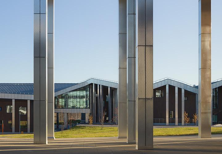 The Innovative Smart School project by CEBRA Architecture.