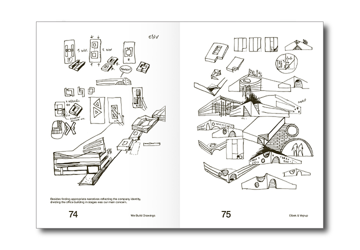 We Build Drawings – a CEBRA book made with Dutch FRAME publishers